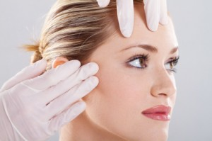 Plastic surgery facial evaluation