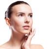 woman after facial liposuction